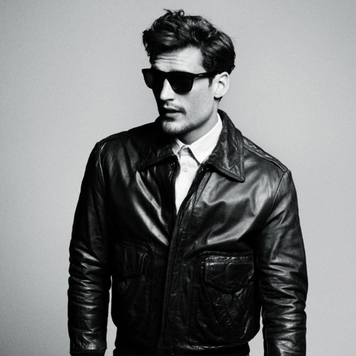 Sunglasses and Leather Jacket