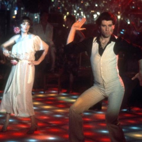 we spent the night in 'Frisco at every kind of disco