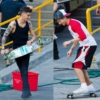 Skateboarding with Zouis