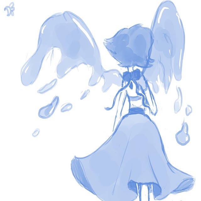 lost at sea; lapis lazuli