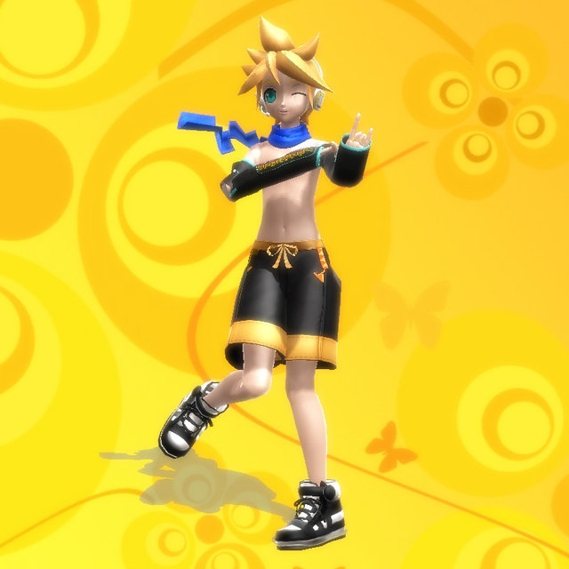why does len have no nipples