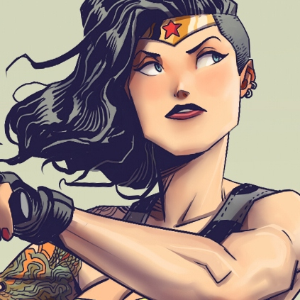 8tracks radio | Superwoman? Nah Wonder Woman (35 songs