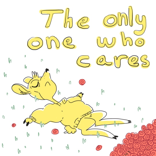 """""""The only one who cares"""""""