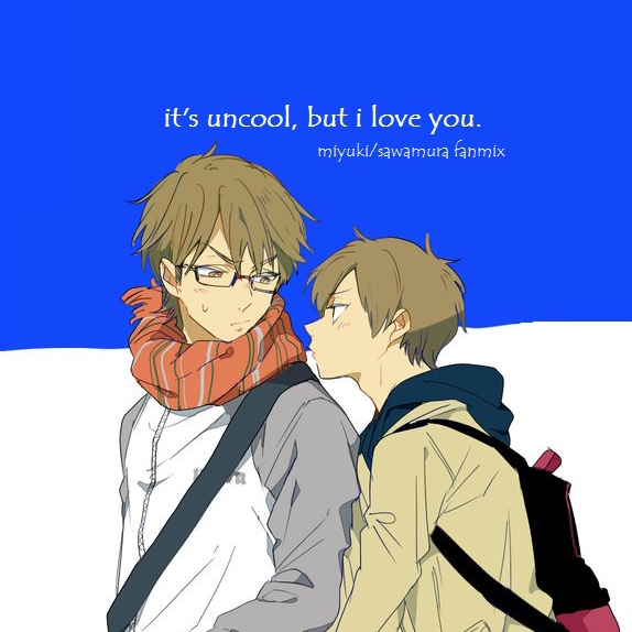 it's uncool, but i love you.