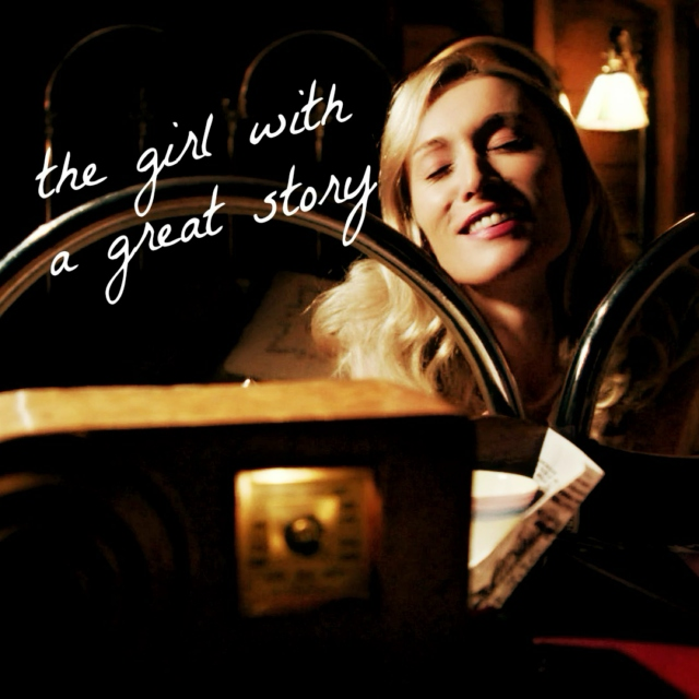 the girl with a great story