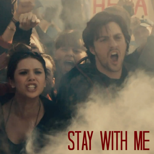 stay with me//maximoff twins