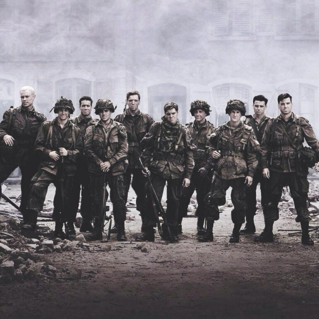 a company of heroes.