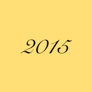 A Year of Music ;; 2015