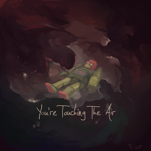 You're Touching The Air