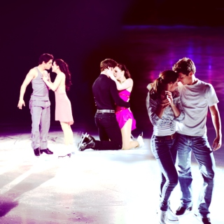 scott&tessa; just friends who kiss sometimes... or more?