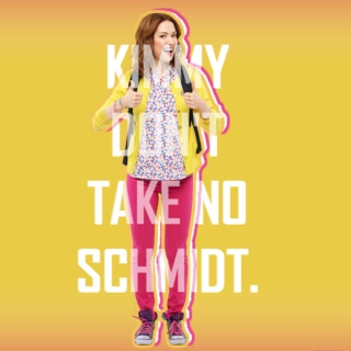Kimmy Don't Take No Schmidt.