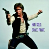 Han Solo, space pirate.