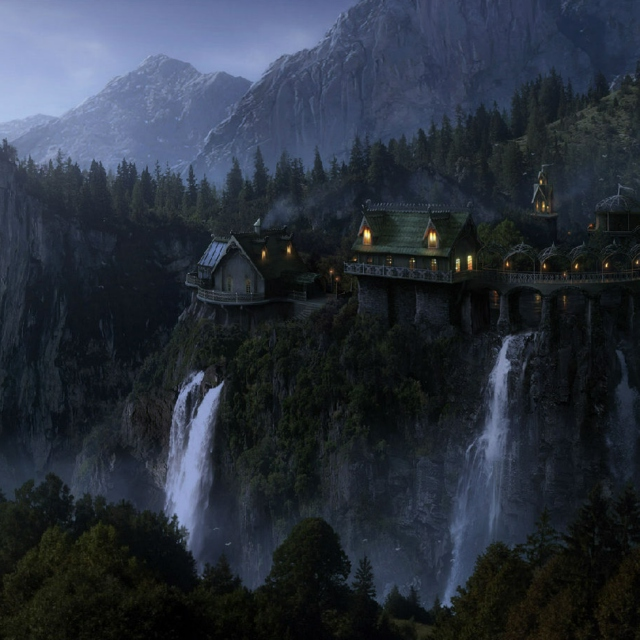 Tributes to the Eldar - Rivendell