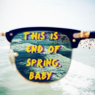 this is end of spring,baby