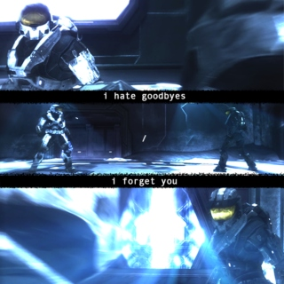 i hate goodbyes / i forget you