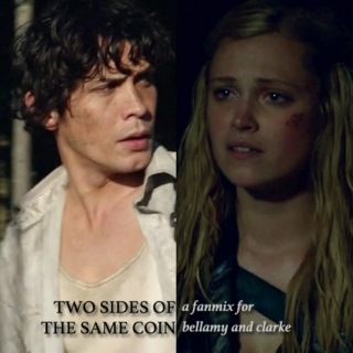 two sides of the same coin (bellarke)