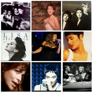 Ladies of the 90's (Pop Ballads & Pop Slow jams)