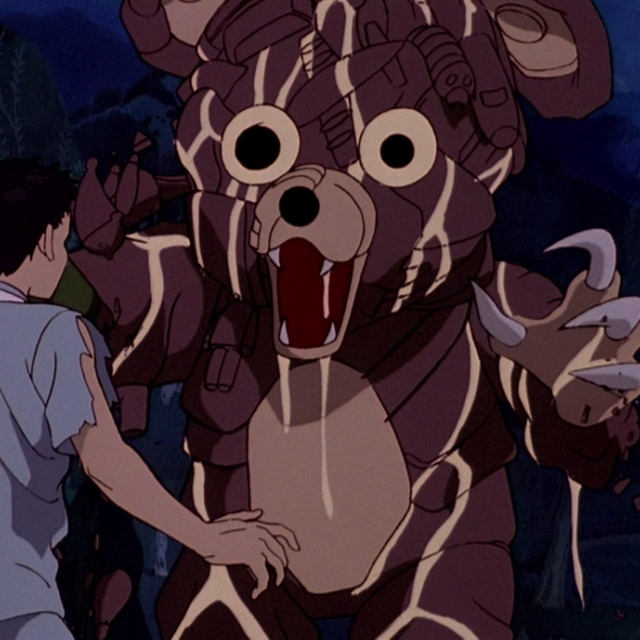 The Bear from akira comes to WRECK YOUR SHIT