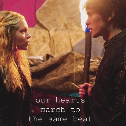 our hearts march to the same beat