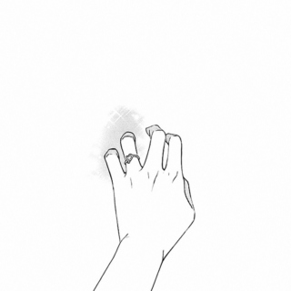 the moment I let go of your hand