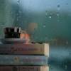 For warm rainy days curled up with a thick book