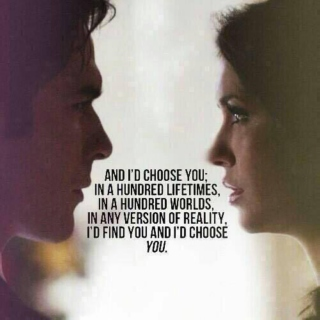 Delena songs; The Vampire Diaries.