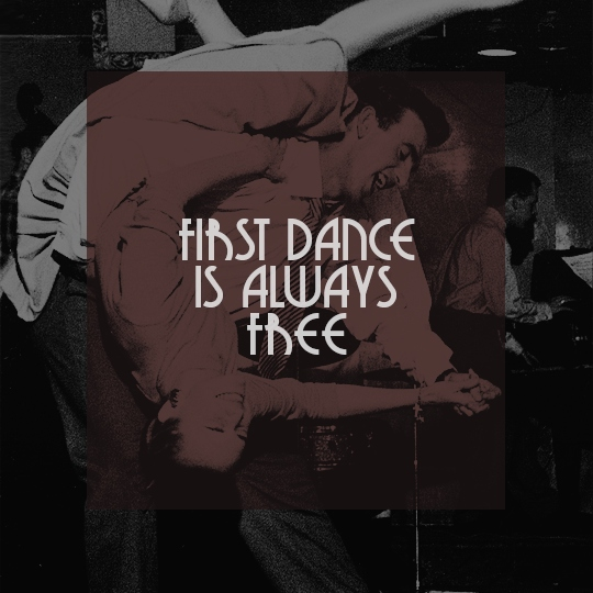 first dance is always free.