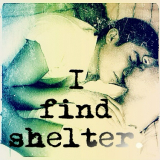 I find shelter ~ More than This by Patrick Ness