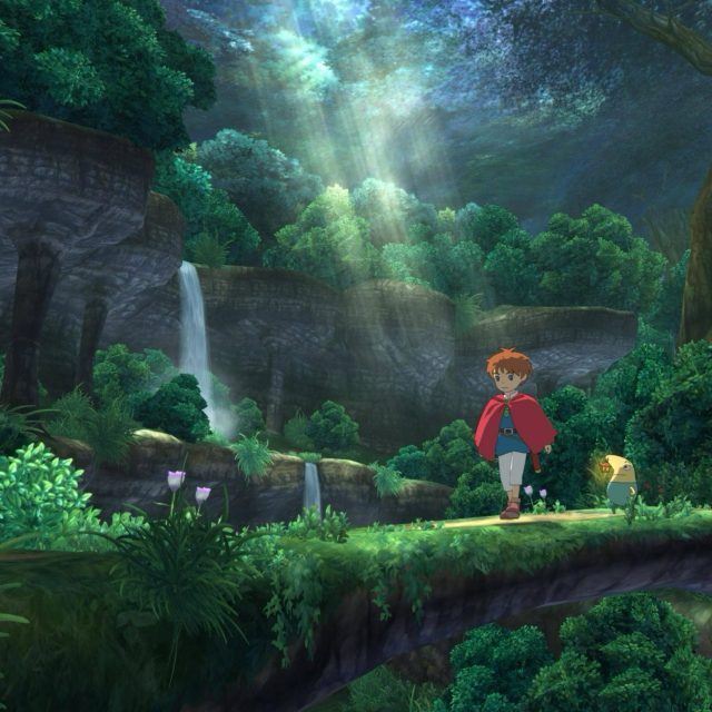 I want to live in a Ghibli movie