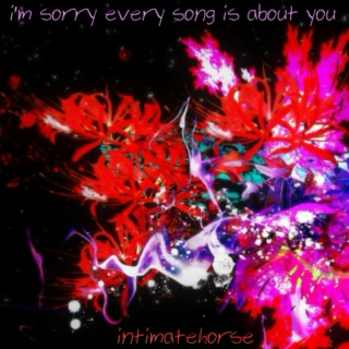 i'm sorry every song is about you