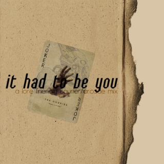 it had to be you: a lore friendly courier/arcade mix