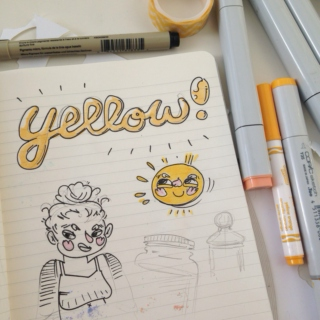 artkid's doodle playlist (yellow)