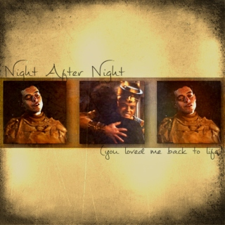 Night After Night (you loved me back to life)