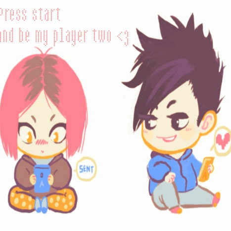 Press start and be my player two
