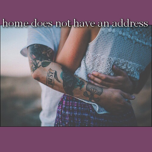 home does not have an address