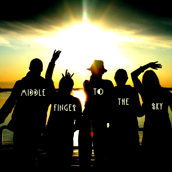 MIDDLE FINGER TO THE SKY