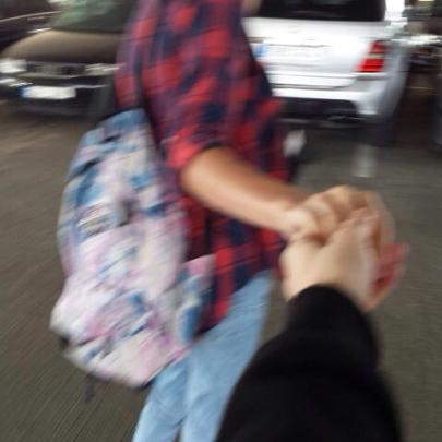 something nice about holding hands