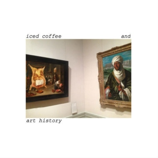 iced coffee and art history