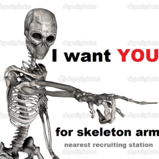 onward skeleton warrior