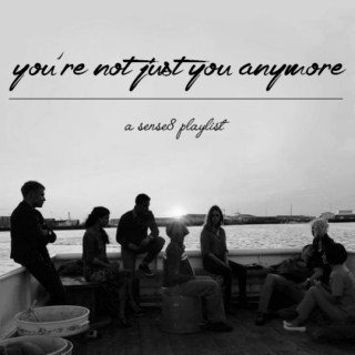 you're not just you anymore;