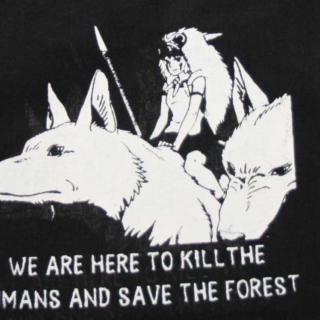 kill the humans & save the forest