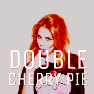 double cherry pie.