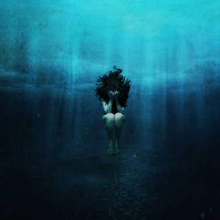 Drowning in the dark that is our minds