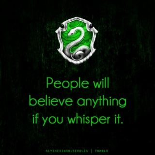Slytherins Have the Most Fun