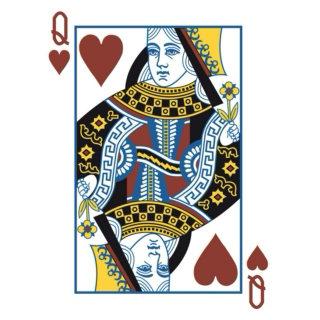 Here's to the Queen of Hearts