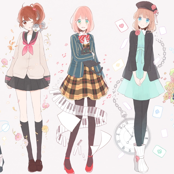 ;; otome heart (ops & eds)