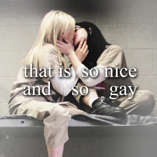 that is so nice - and so gay ;;