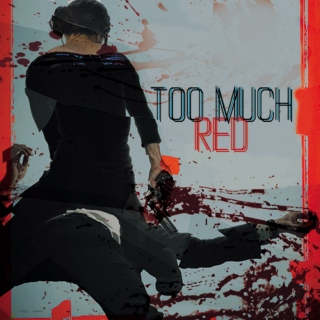 too much red;