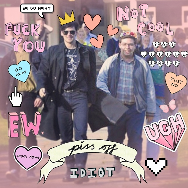 goth king and sports nerd