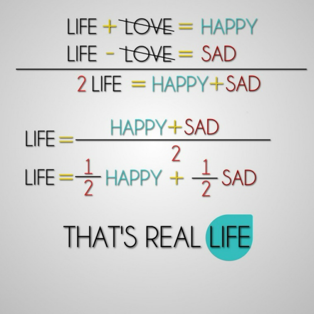 Love, Sad, Happy ♥